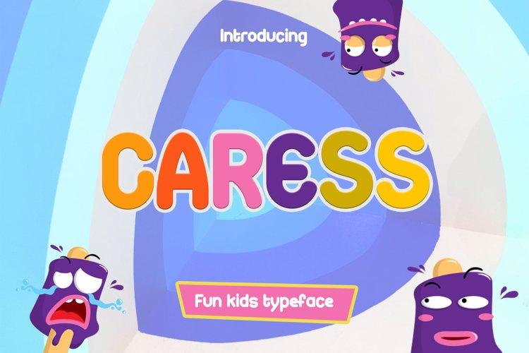 Caress Fun For Kids Font
