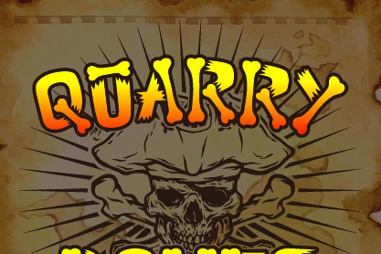 Quarry Bones Font