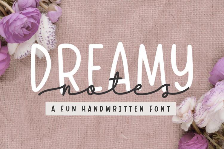 Dreamy Notes Sans Font