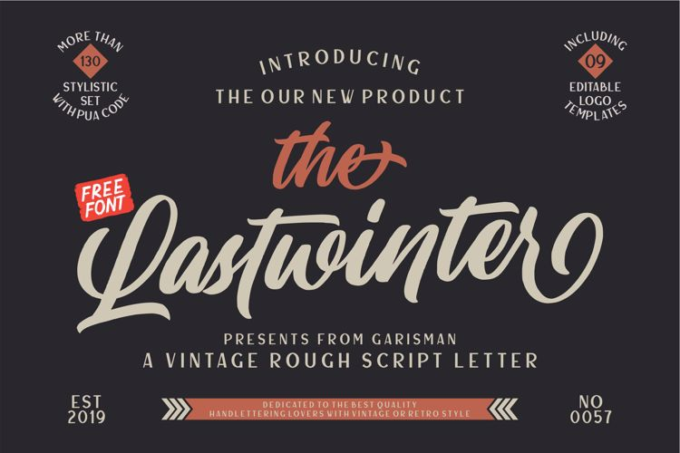 Laswinter Font