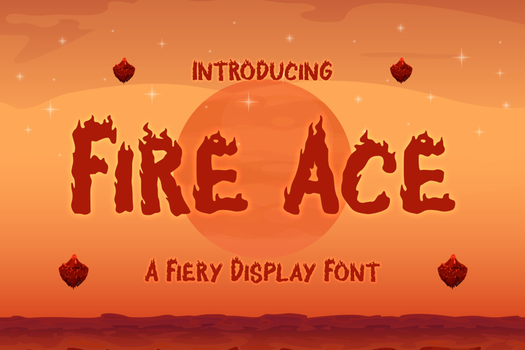 Fire Ace Trial Font