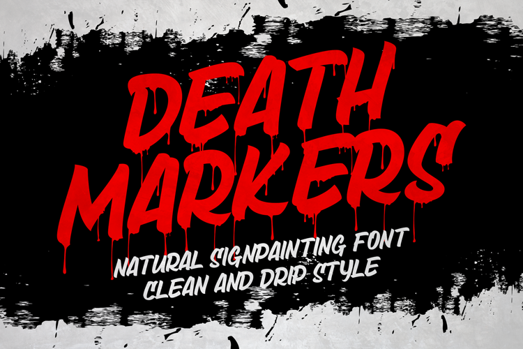 Death Markers Font