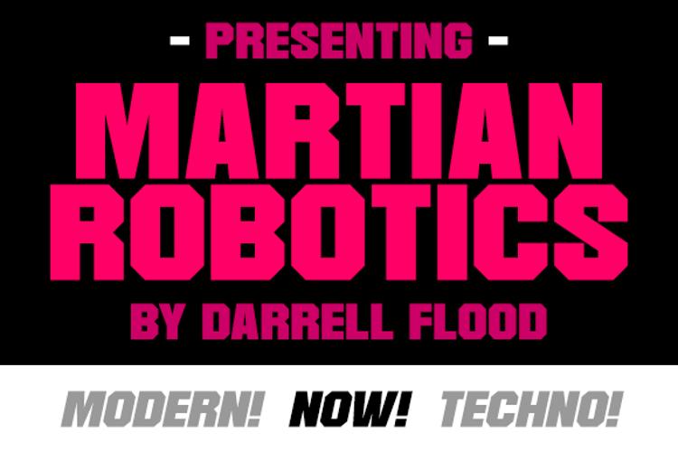 Martian Robotics Font