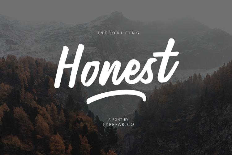 Honest  Font