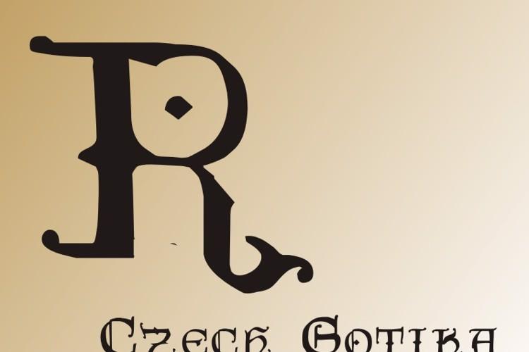 CzechGotika Font