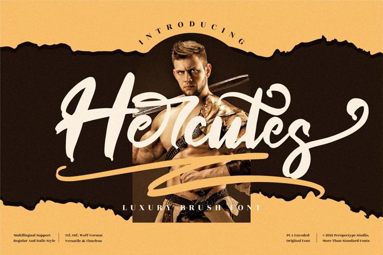 Hercutes Font