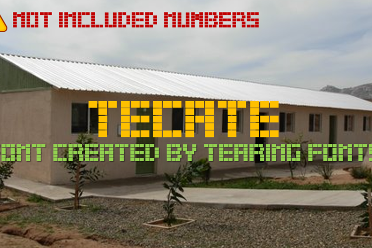Tecate Font
