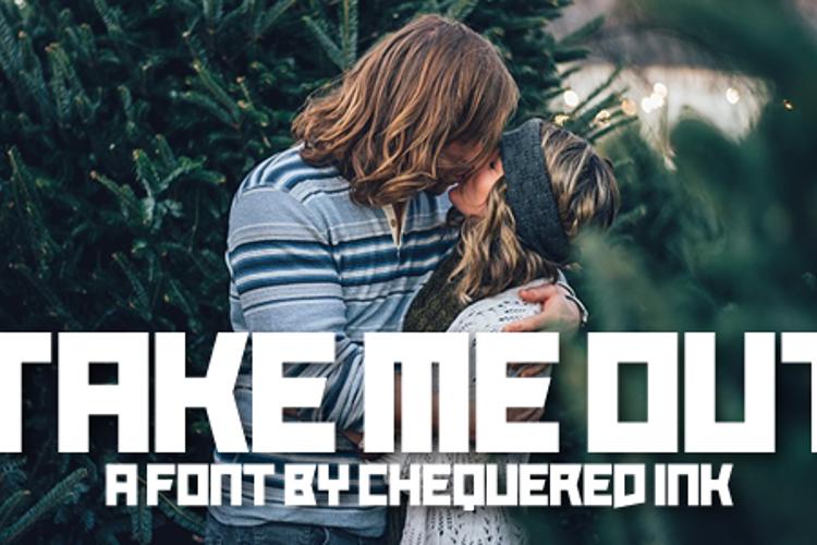 Take Me Out Font