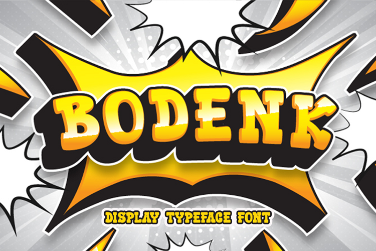 Bodenk Font