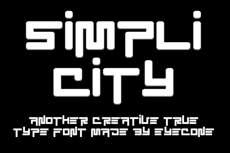 EC SimpliCity Font