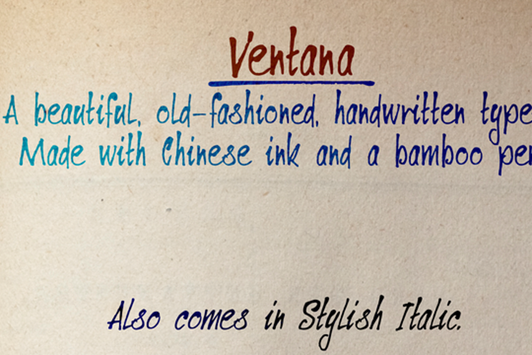 DK Ventana Font