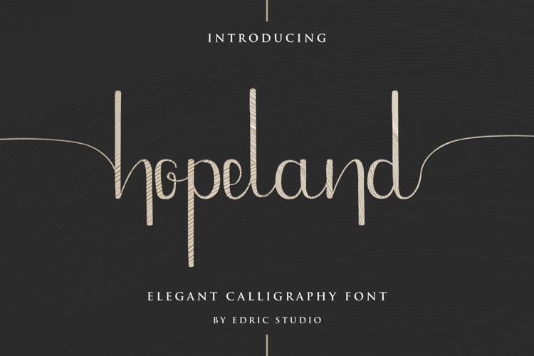Hope Land Font