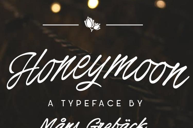 Honeymoon Font