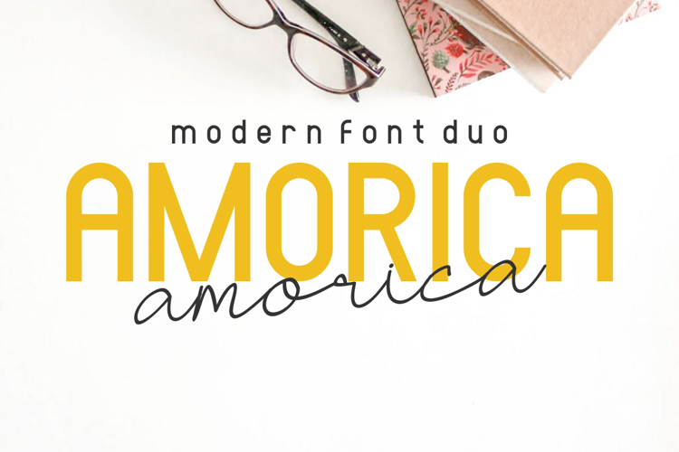 AMORICA Duo Font