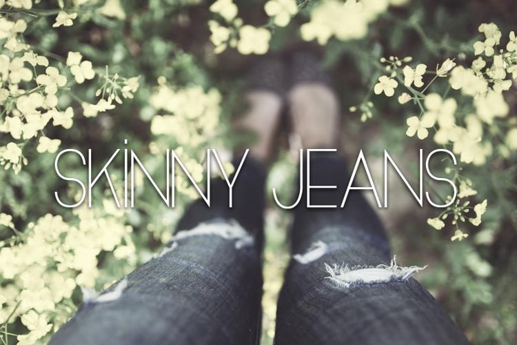 Skinny Jeans Font