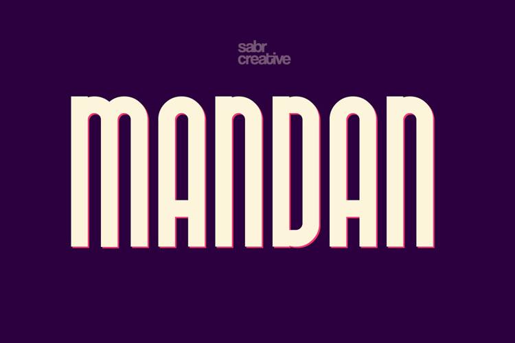 Mandan Font