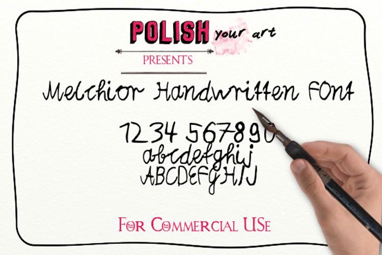 Melchior Handwritten Font