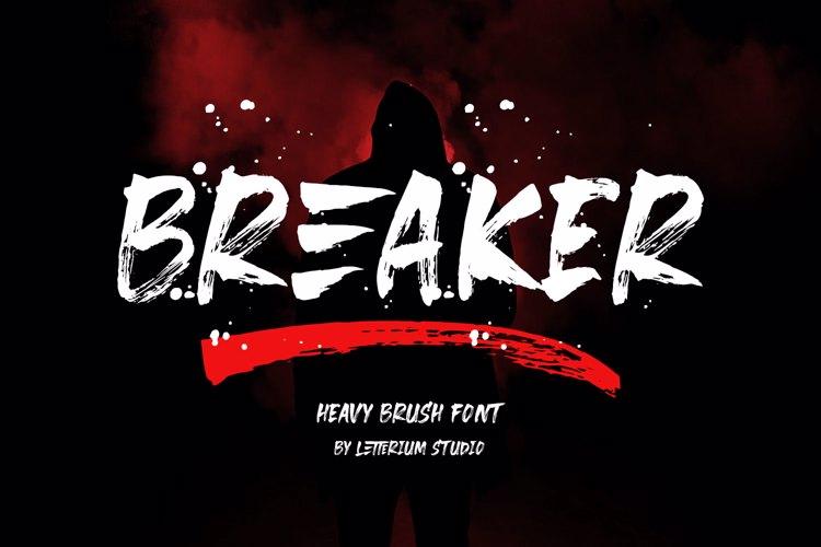 Breaker Font