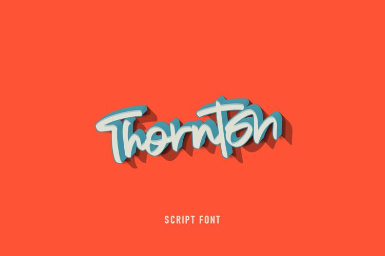 Thornton Font