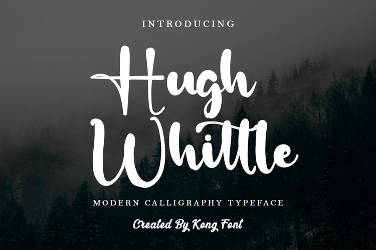 Hugh Whittle Font