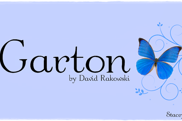 Garton Font