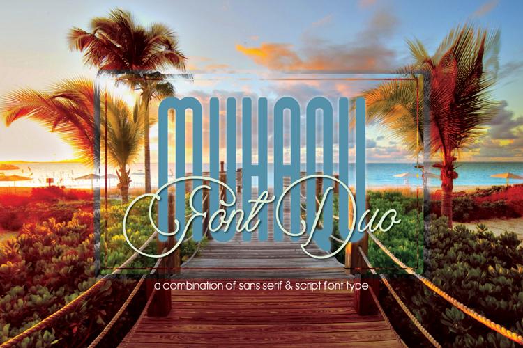 Muhaqu Script Font
