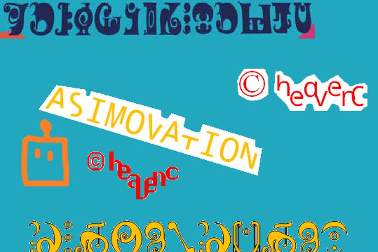 Asimovation Font