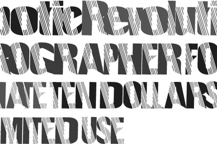 RoboticRevolution Font