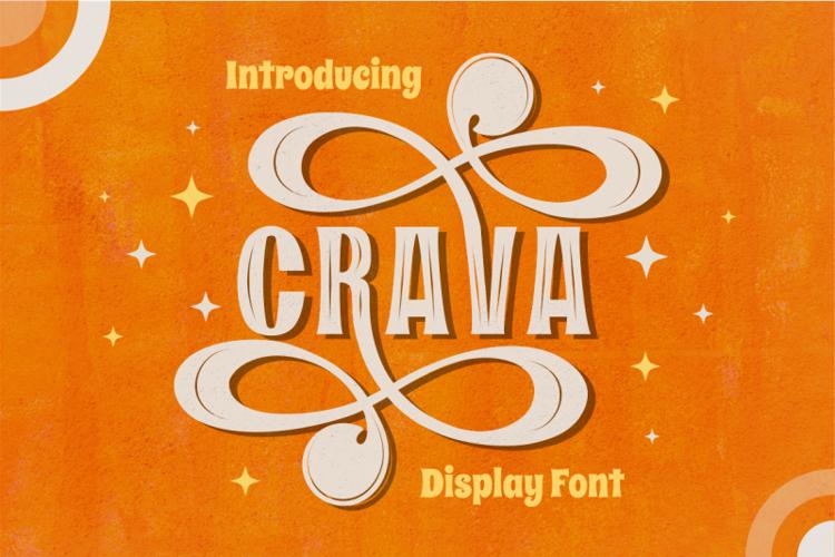 CRAVA Font