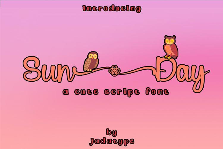 Sun Day Font