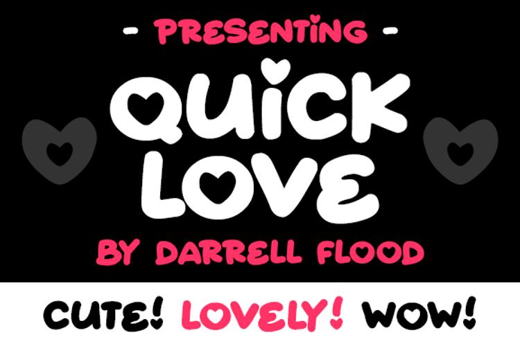 Quick Love Font
