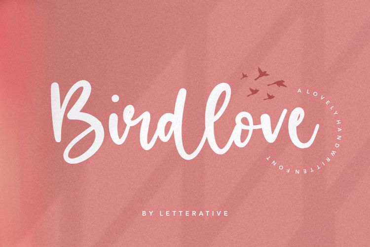 Birdlove Font