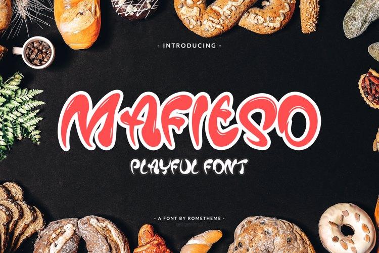 Mafieso Font