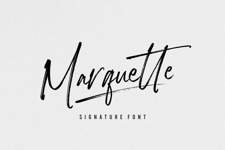 Marquette Font