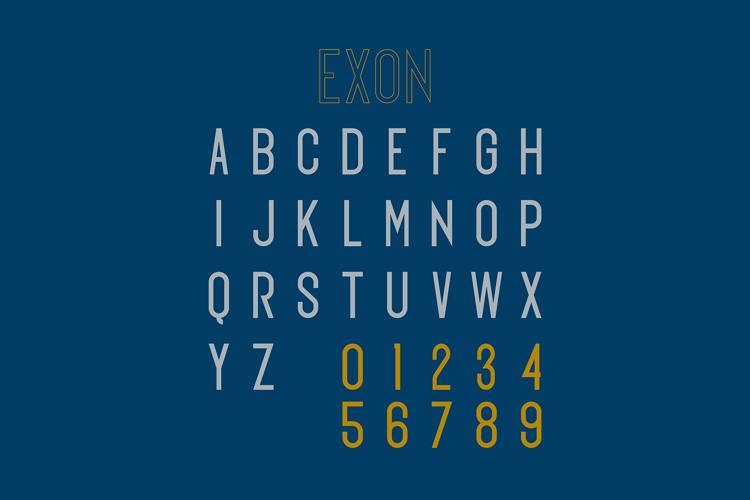 Exon Font