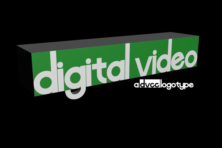 Digital Video Font