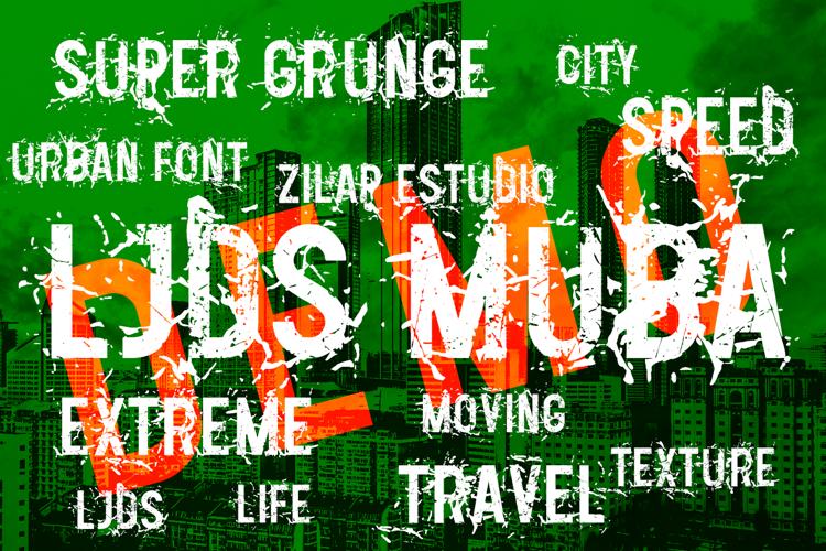 LJDS Zilap MUBA Font