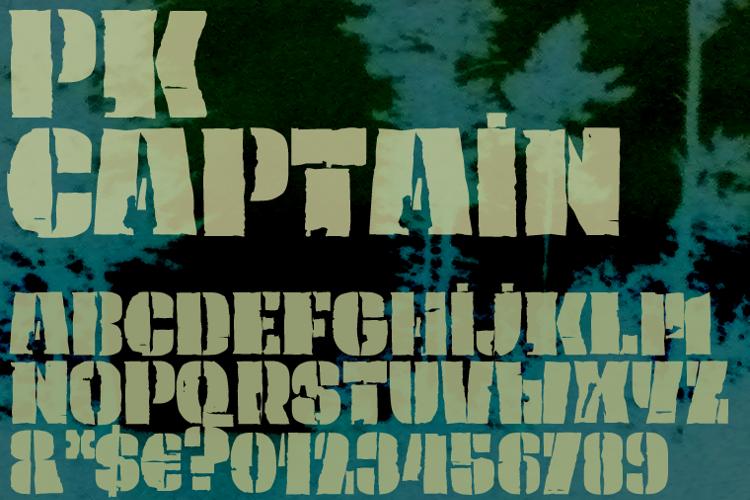 PK Captain Font