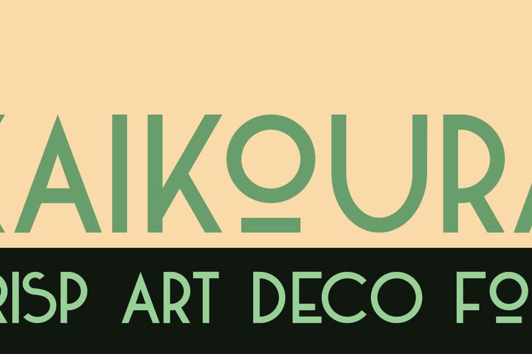 DK Kaikoura Font