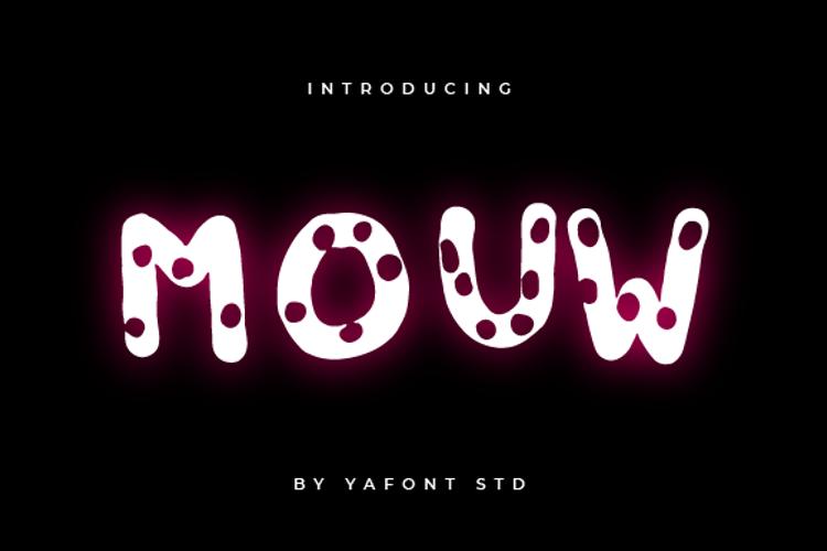 MOUW Font