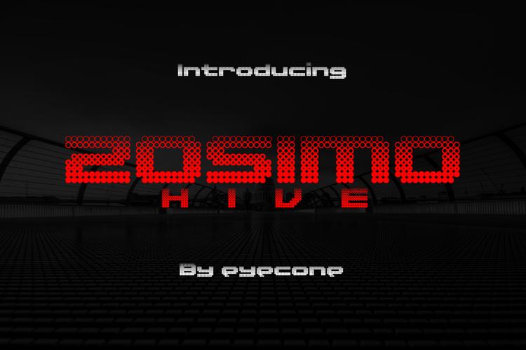 Zosimo Hive Font
