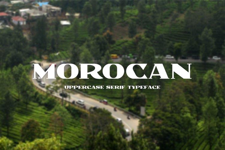 Morocan Font