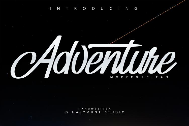Adventure Font