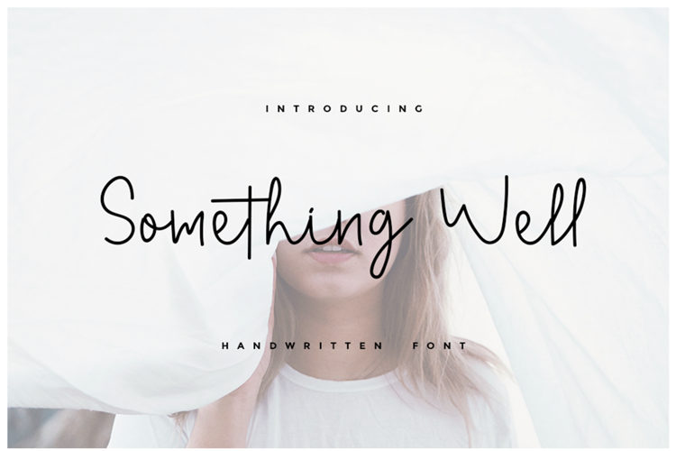 Something Well Font