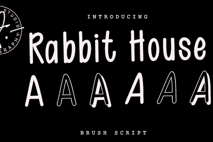 Rabit House Font