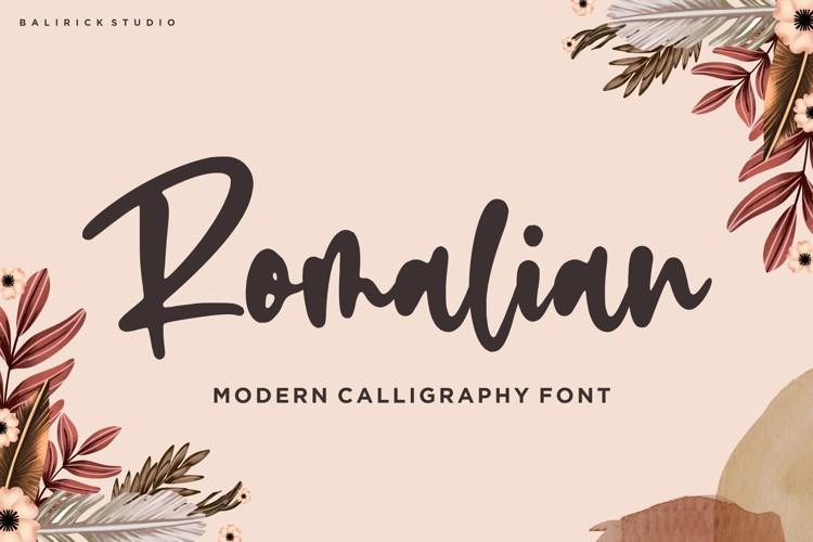 Romalian Font