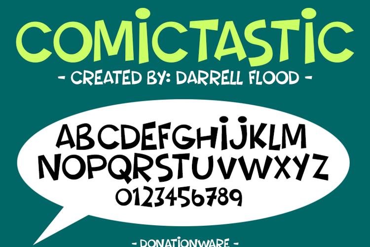 Comictastic Font