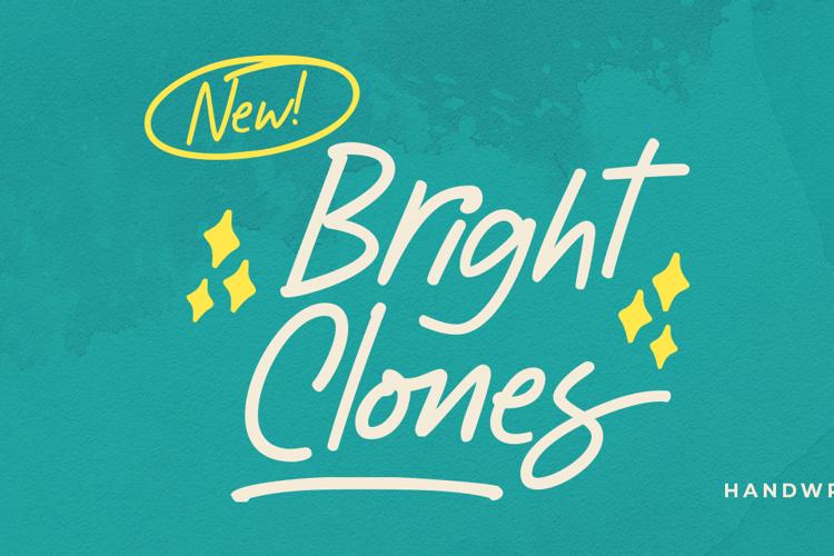 Bright Clones Font