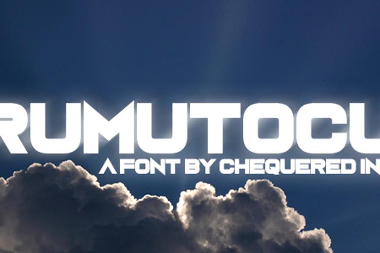 Rumutocu Font