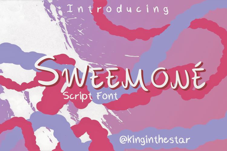 Sweemone Font